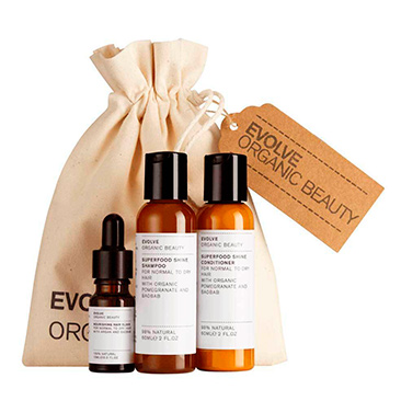 Beauty Hair Essentials Collection Evolve Organic Beauty