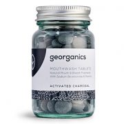 Dentífrico Natural Georganics en Tabletas Activated Charcoal | Carbón Activado