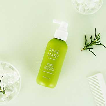 Real Mary Energizing Scalp Spray Rated Green Bodegón