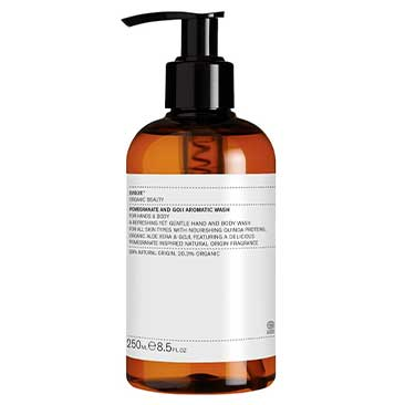 Pomegranate and Goji Aromatic Wash Evolve Organic Beauty